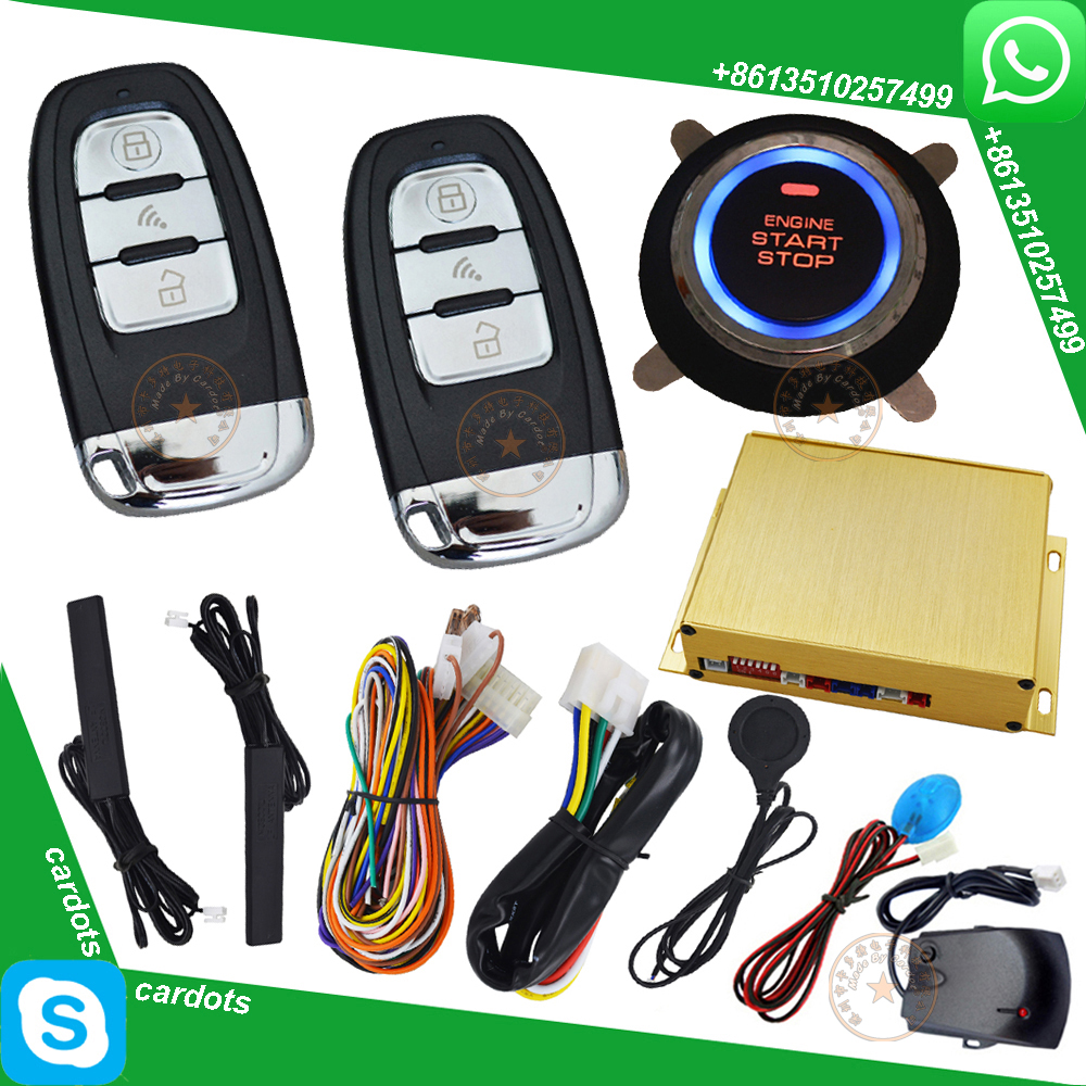 Rfid Card Car Alarm System Pke Car Alarm Rfid Smart Key