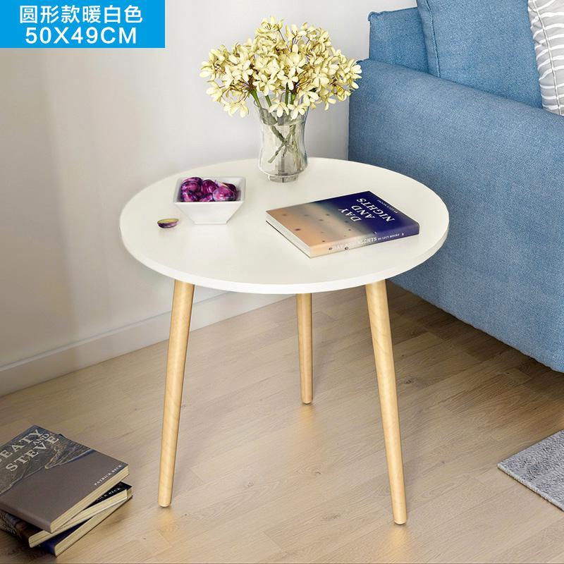 Скандинавский журнальный столик для гостиной, современный минималистичный чайный столик из твердой древесины, многофункциональный чайный столик - Цвет: Style 13