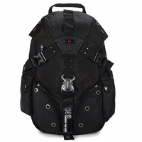 Swiss Military 14F Army Travel Bags Laptop Backpack 15 6 Multifunctional Schoolbag For Macbook Waterproof Fabric