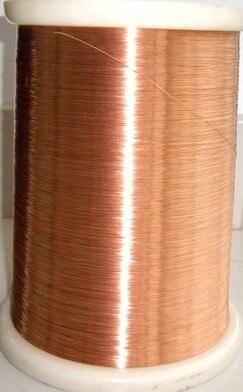 1.0mm * 200m / kpl QA-1-155 2UEW Polyuretaani emaloitu Wire Copper Wire emaloitu Korjaus