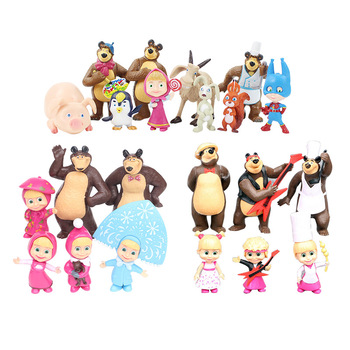 Masha and the Bear action figures