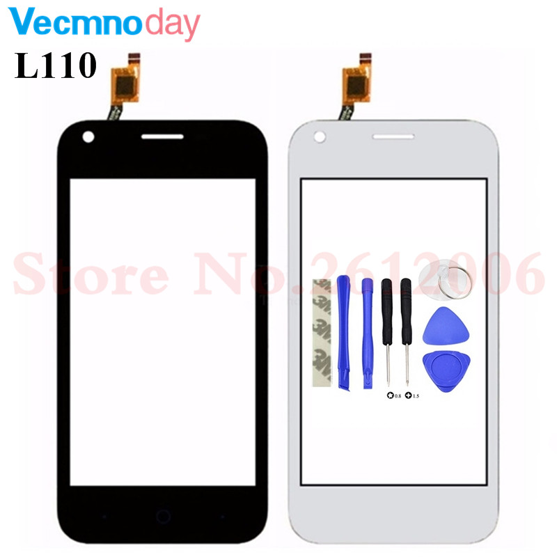 High Quality 4.0 inch For ZTE Blade L110 Touch Screen Digitizer Touch Panel Lens Glass With Tape Black&White ColorHigh Quality 4.0 inch For ZTE Blade L110 Touch Screen Digitizer Touch Panel Lens Glass With Tape Black&White Color