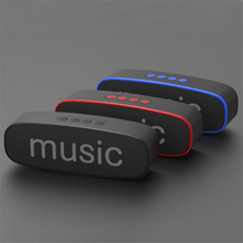 QINGRX Portable Bluetooth Speaker Mobile Wireless Car Audio Smart and TF Card Outdoor Subwoofer for iphone  xiaomi PC
