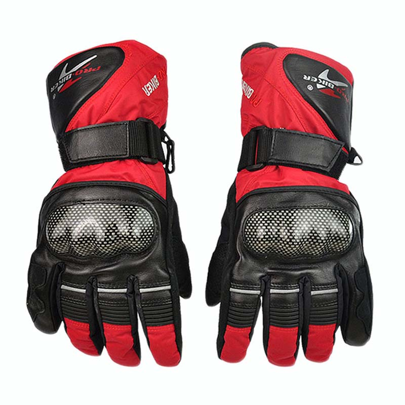 PRO-BIKER Winter Waterproof Skiing Gloves Warm Thermal Motorcycle Motocross Cycling Snowboarding Outdoor Sports Gloves Guantes