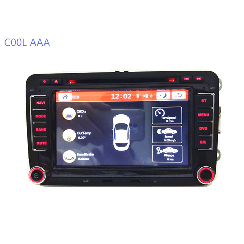vw car radio dvd rns 510 vw golf 4 golf 5 6 touran passat. Black Bedroom Furniture Sets. Home Design Ideas