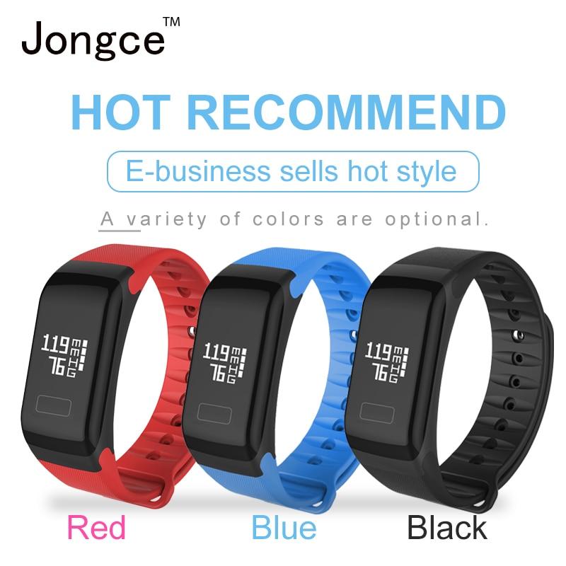 Jongce JCWT1 Bracelet Heart Rate Monitor Swimming Waterproof IP66 Smart Bracelet Activity Tracker Pedometer Watch Wristband