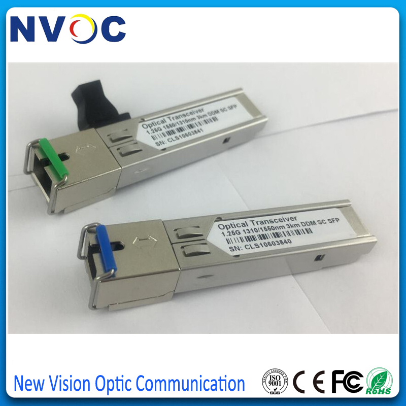 3km BiDi SFP 1G GLC-BX-D, Bi-Directional, WDM, 1.25Gbps, SC DOM // DDM // DDMi