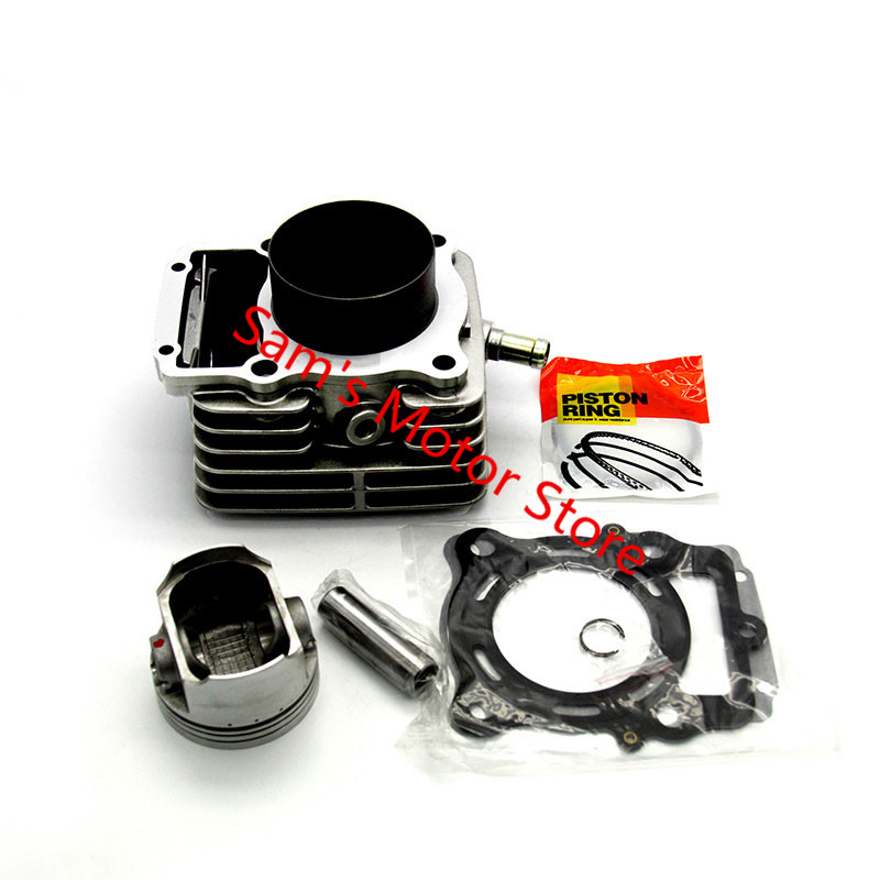 70MM LIFAN CG250 Water Cooling Cooled Aluminum Motorcycle