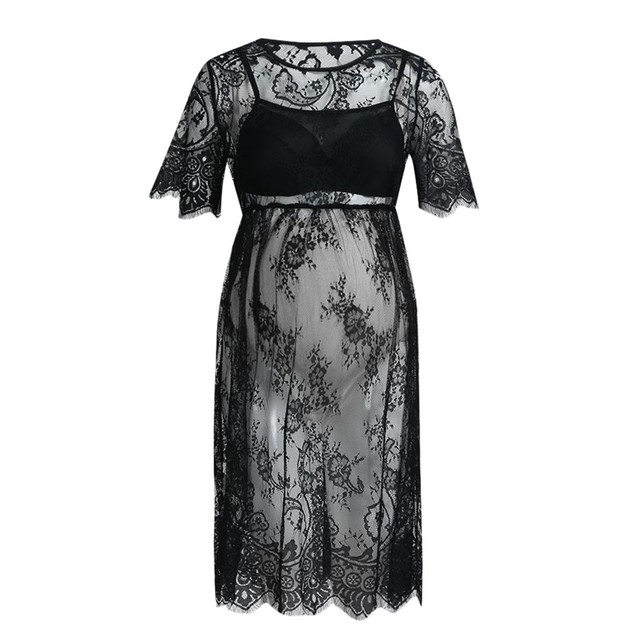 Short Sleeve MUQGEW Maternity Dresses 5