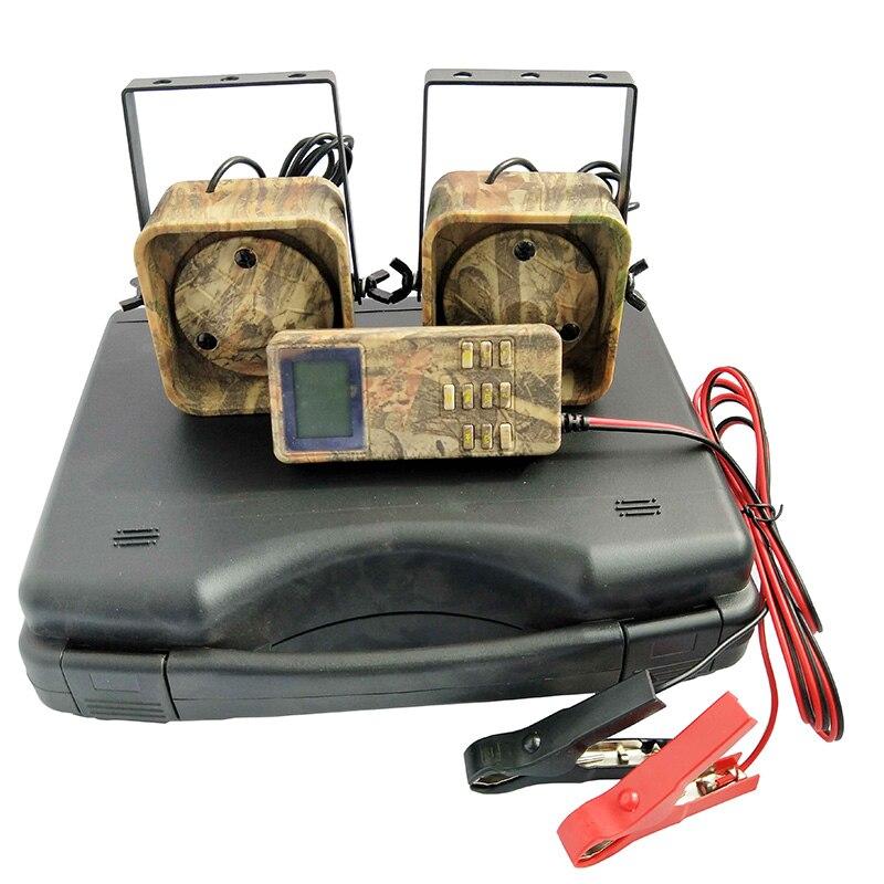 Leurre chasse Mp3 oiseau appelant sons lecteur intégré 200 oiseau voix chasse leurre 2 joueurs 50 W Animal appelant pour la chasse - 4