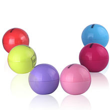 Ball Lip Balm Lipstick,Organic Ingredients Lip Protector Sweet Taste Fruit Embellish Makeup Lipstick Gloss for mouth to lip