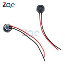 5 sztuk 4*1.5mm skraplacz elektretowy mikrofon kapsułka 2 odprowadzenia W 4x1.5mm w Części i akcesoria do instrumentów od Narzędzia na