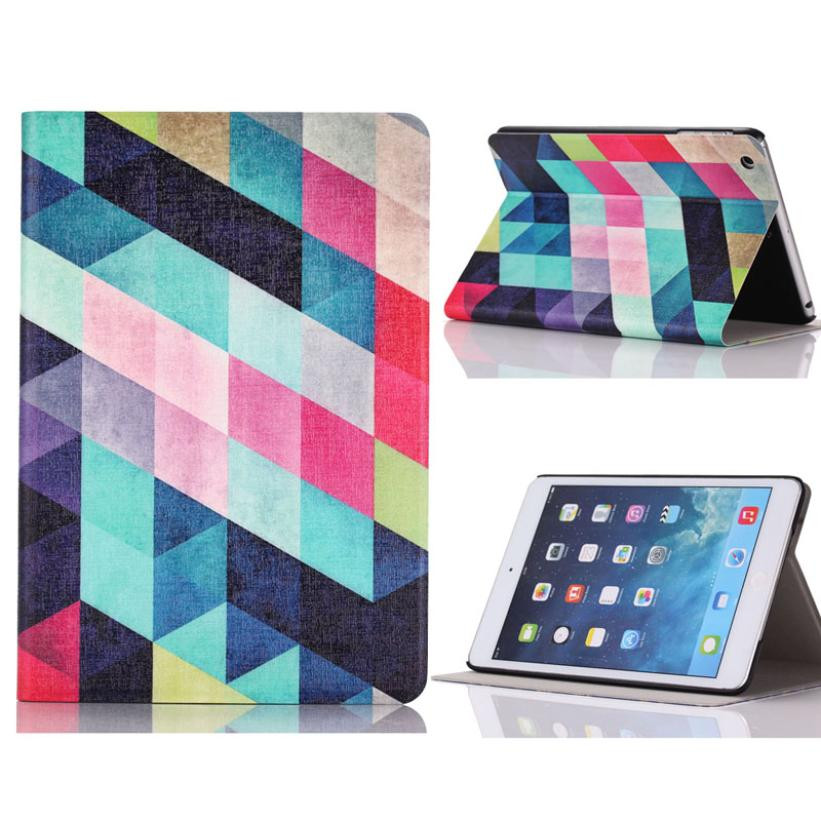 U Pu Leater Leather Case Flip Pouch Stand Cover For ipad mini Latest Design Popular Now N0224