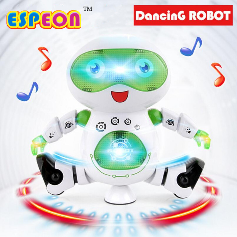 Espeon Smart Space Dance Robot Electronic Walking Toys With Music Light Gift For Kids Astronaut Toys For Children