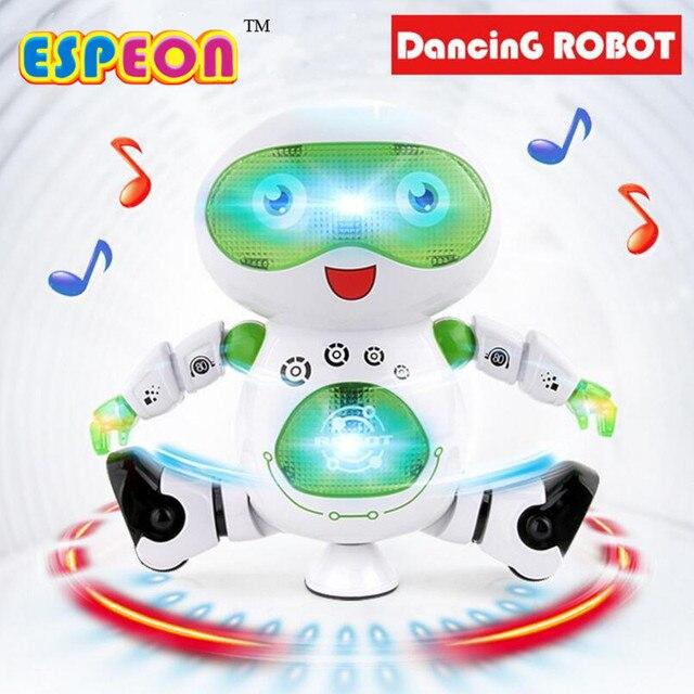 Dance Música Espeon Regalo Espacio Juguetes Electrónico Astronauta Inteligente Luz Con Para Niños Robot j34R5ALq