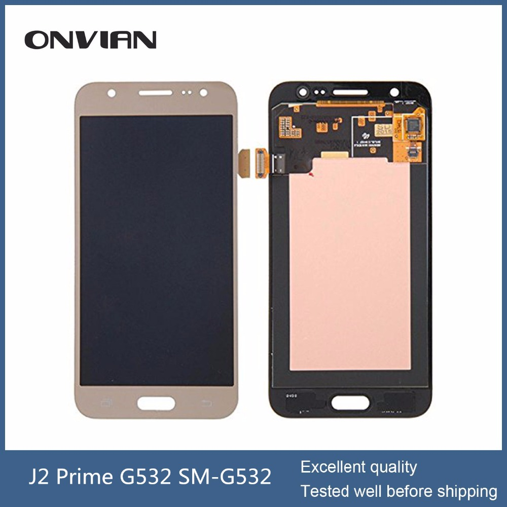 G532 LCD Display Touch Screen Digitizer For Samsung galaxy J2 Prime G532 SM-G532F Mobile Phone module complete Repair Parts