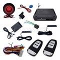 2015 Novo Código Hopping Passive Keyless Entry PKE Carro Sistema de Alarme Com Sensor de Choque Automático Identificar o Proprietário Saída Da Janela de Poder