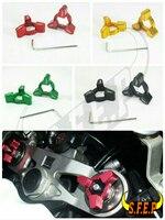 Motorcycle CNC Fork Preload Adjusters For Kawasaki ZX10R 2009