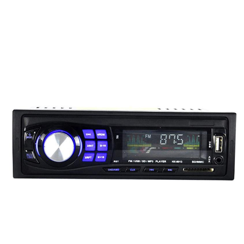 Good Sale Car Stereo Audio In Dash FM Aux Input Receiver SD USB MP3 Radio Aug