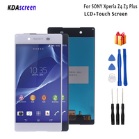 For Sony Xperia Z4 Z3 Plus LCD Display Touch Screen Digitizer Phone Accessories With Free Shipping And Gift Tools