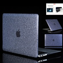 new Shine Glitter Hard Laptop Case For Apple Macbook Air Pro Retina 11121315 for Mac book2018 New 13Touch Bar