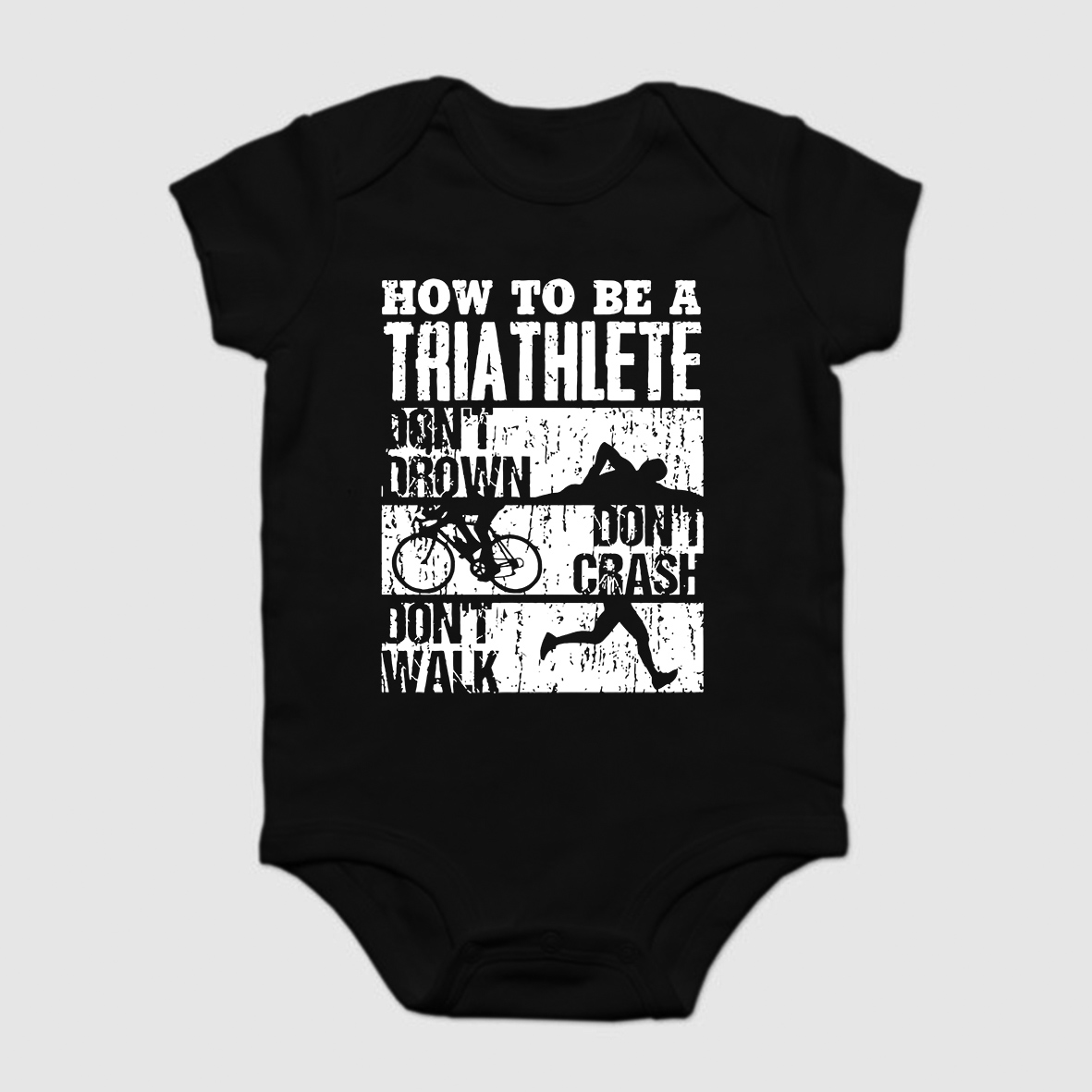 fb956ae8c Baby Onesie Baby Bodysuits kid t shirt Funny novelty Triathlon - Funny  Triathlon For the BEST
