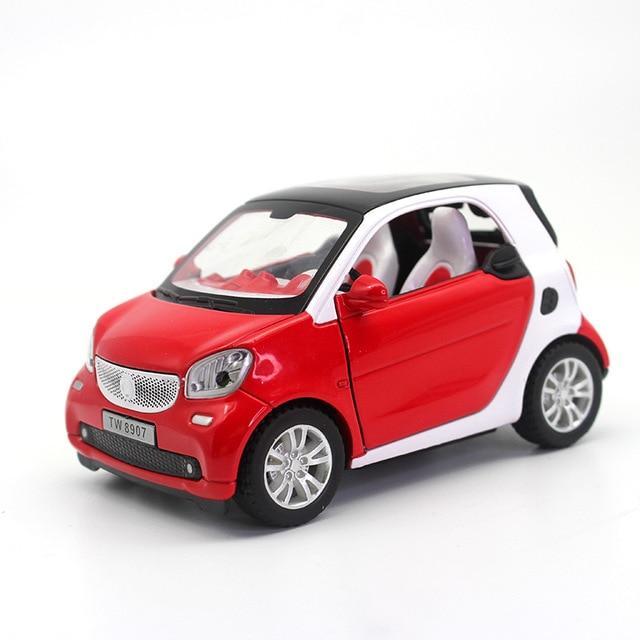 1 24 Smart Alloy Car Model Ty8907 L 11 5cm W 8cm Looks Big A Toy
