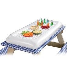 Лето Надувной пивной стол бассейн Поплавок воды вечерние матрас ведро льда/Салат Бар Лоток еда напиток обеденный стол