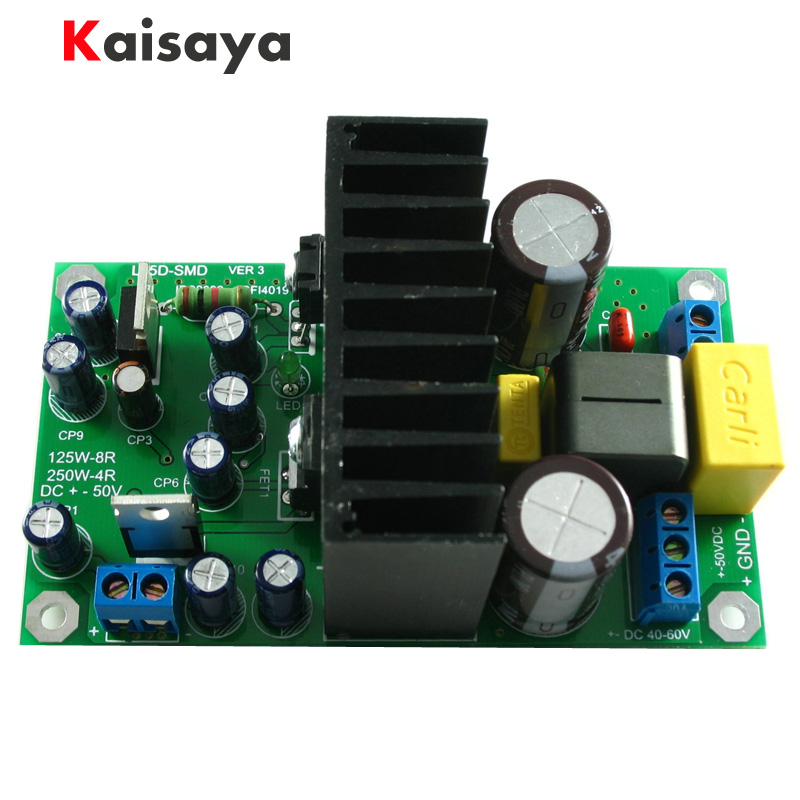 L15DSMD IRS2092S High power 250W Class D Audio Digital Power Mono Amplifier Board B5-001