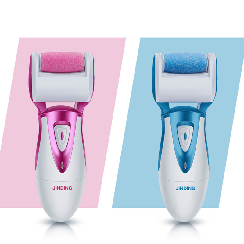 New Electric Pedicure Sholl Foot Care Tool Files Callus Remover Rechargeable Sawing File US Plug For