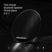 Bluetooth Stereo Speaker With Fast Charge Wireless Charger W8 , Qi Standard For Samsung Galaxy S8 S8+ S7 S7 Edge S6 Edge Plus
