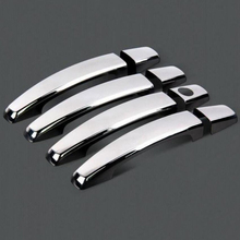Hot Sale Chromium Styling Door Handle Covers For Chevrolet Captiva Chevy Vauxhall Opel Antara Accessories Stickers Car Styling