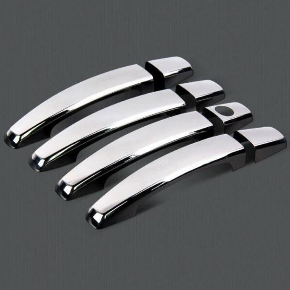 Hot sale chromium styling door handle covers for chevrolet captiva chevy vauxhall opel antara accessories stickers