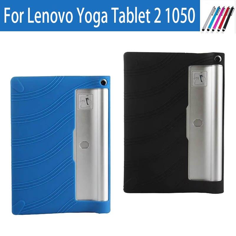 Cover Protective-Case Tablet Lenovo 1050F Yoga Back Soft-Silicon Original For Tab-2/1050/1050f