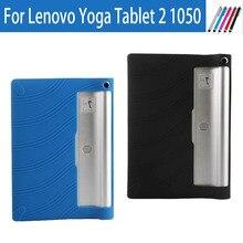 Original de la Cubierta Suave del Silicio de TPU para Tablet Lenovo Yoga Tab 2 1050 1050F 1050L 1051F 10.1 Funda Protectora de Gel de Sílice caso