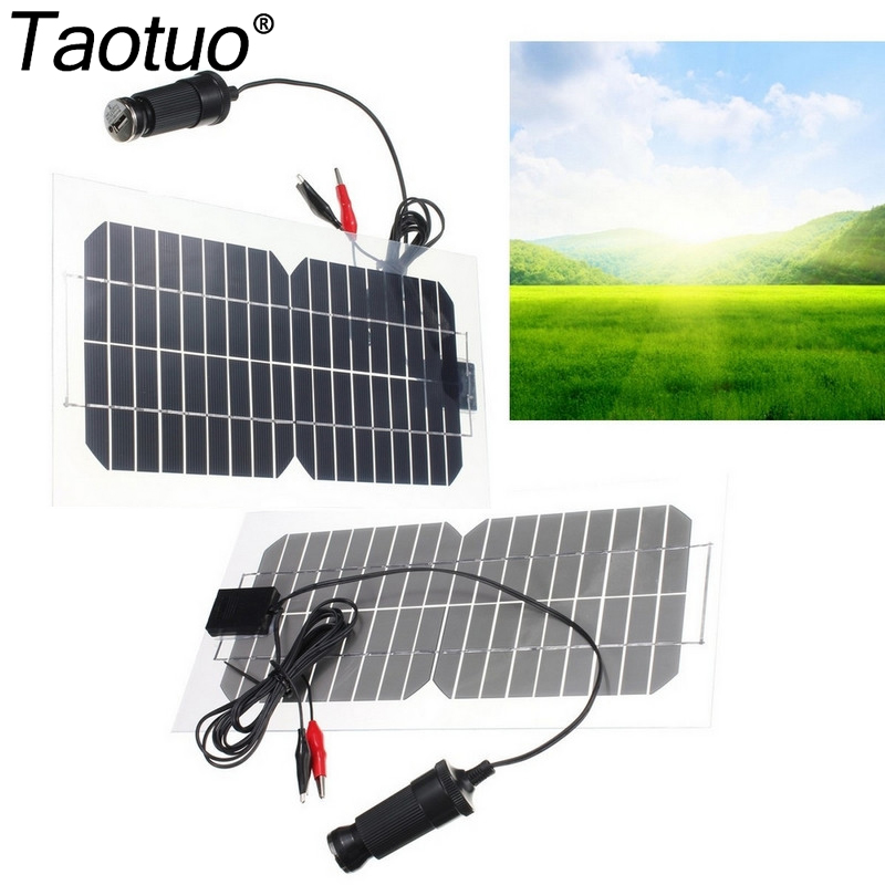 Solar Panel Yearly Savings: Taotuo 18V 5.5W Solar Panel Monocrystalline Saving Sime