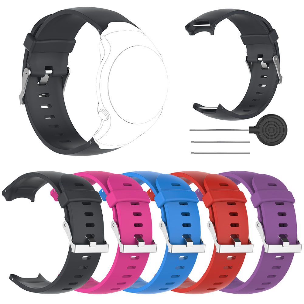 Wrist Band for Garmin Approach S3 GPS Watch High Quality Silicone Replacement Watch Strap with Tool все цены