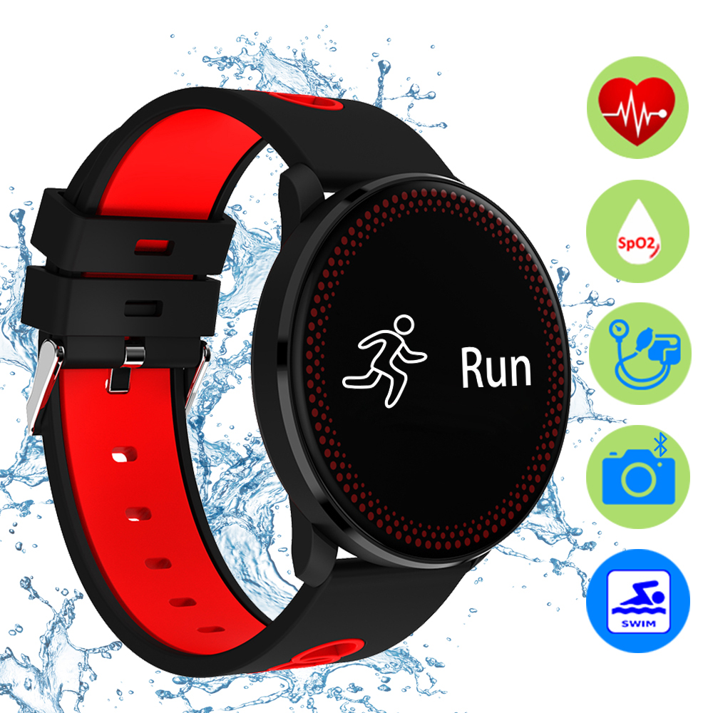 ZUCOOR Smart Fitness Bracelet Heart Rate RB79 Pulseira Inteligente IP68 Waterproof Men Wristband Clever Cardiaco Monitor Tracker