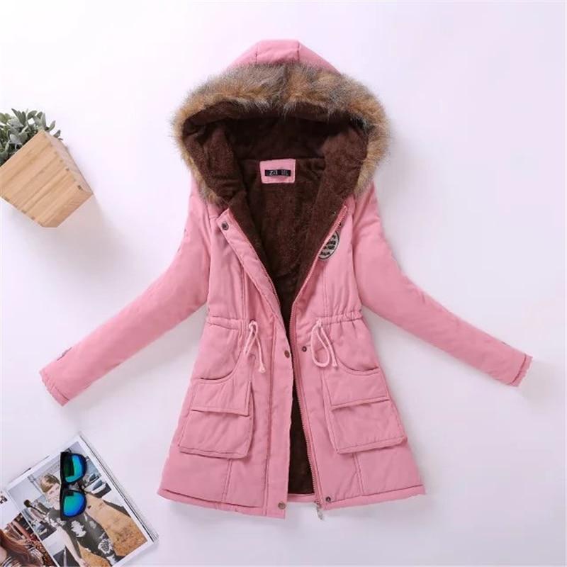 New Parka Female Women Winter Jackets Coat Thickening Cotton Winter Jacket Womens Outwear Parkas for Women Winter Coats Hot sale