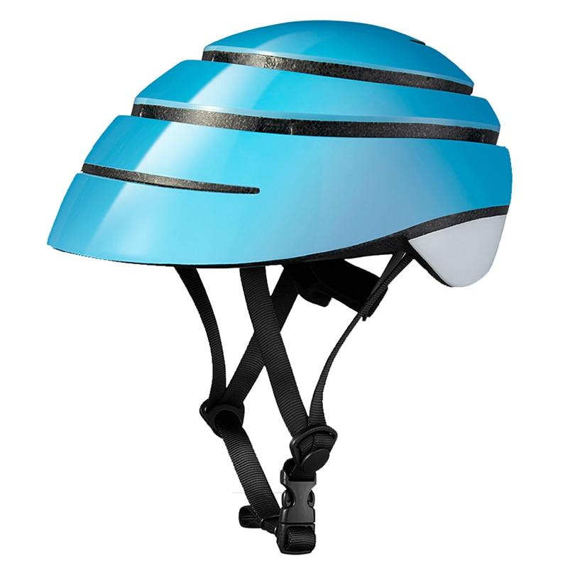 Spain Closca GUB Folding Cycling Helmet Adults Men Women City Urban Bicycle Helmets M L 56-63cm Skating Helmet Black White Blue titans cg03dg 008 outdoor bicycle cycling helmet red white size l