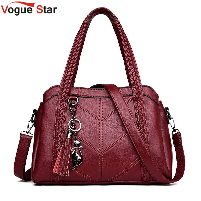 Ladies Vintage Genuine Leather Crossbody Bag Hot Sale Women Casual Tote Bag Female Handbag Large Big Shoulder Bag for Women L30 genuine leather female handbag autumn bag large size women shoulder bag daily vintage women bag causal bag