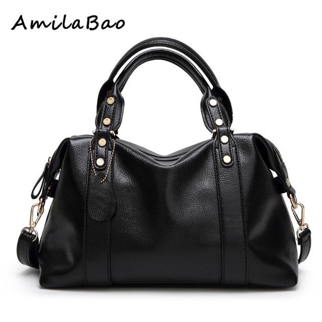 e6451c226ae8 Итальянские кожаные Сумки дамы Винтаж известный дизайнер бренда сумка Для  женщин кожа Сумки Роскошный кошелек модные