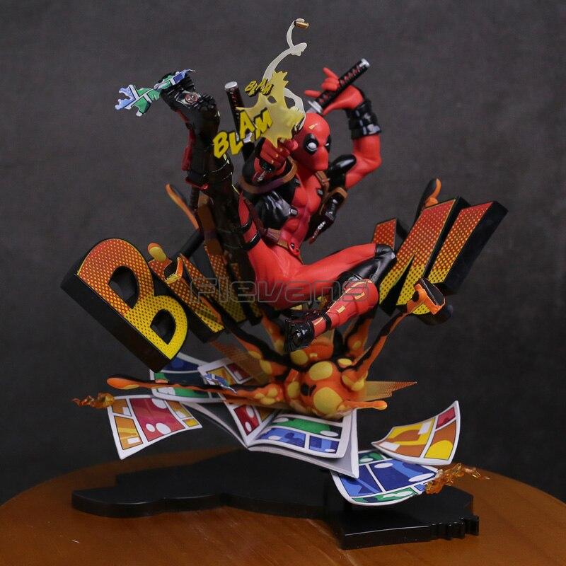 Deadpool Brechen Die Vierte Wand PVC Figure Sammeln Modell Spielzeug 20 cm-in Action & Spielfiguren aus Spielzeug und Hobbys bei  Gruppe 2