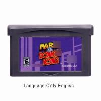 Mari vs. Donke Kong 32 Bit Video Game Cartridge Console Card US Version English