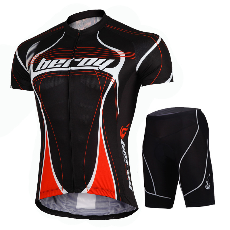 Short Sleeve jersey sets suit Men Cycling Clothing Maillot anti-sweat Polyester Spandex bike Jersey Cycling Sets S-XXXL size