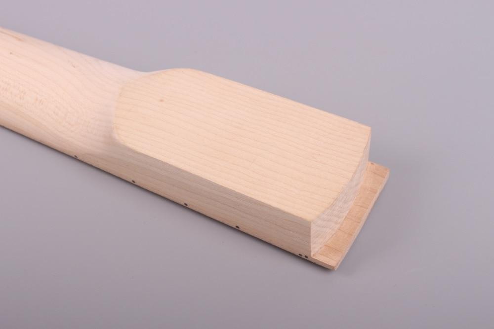 Электрогитара шеи 25,5 дюймов 24 лада клен банан головной платок левая рука