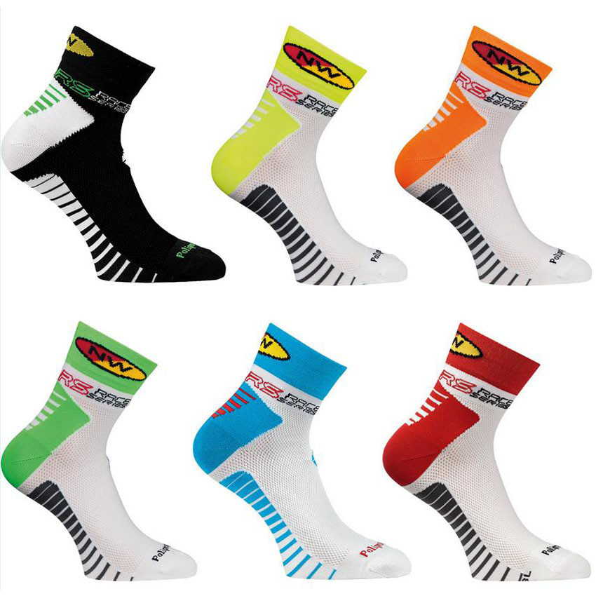 NW Outdoor Men Cycling Socks High Elasticity Outdoor Sports Wearproof Bike Footwear For Road Bike socks