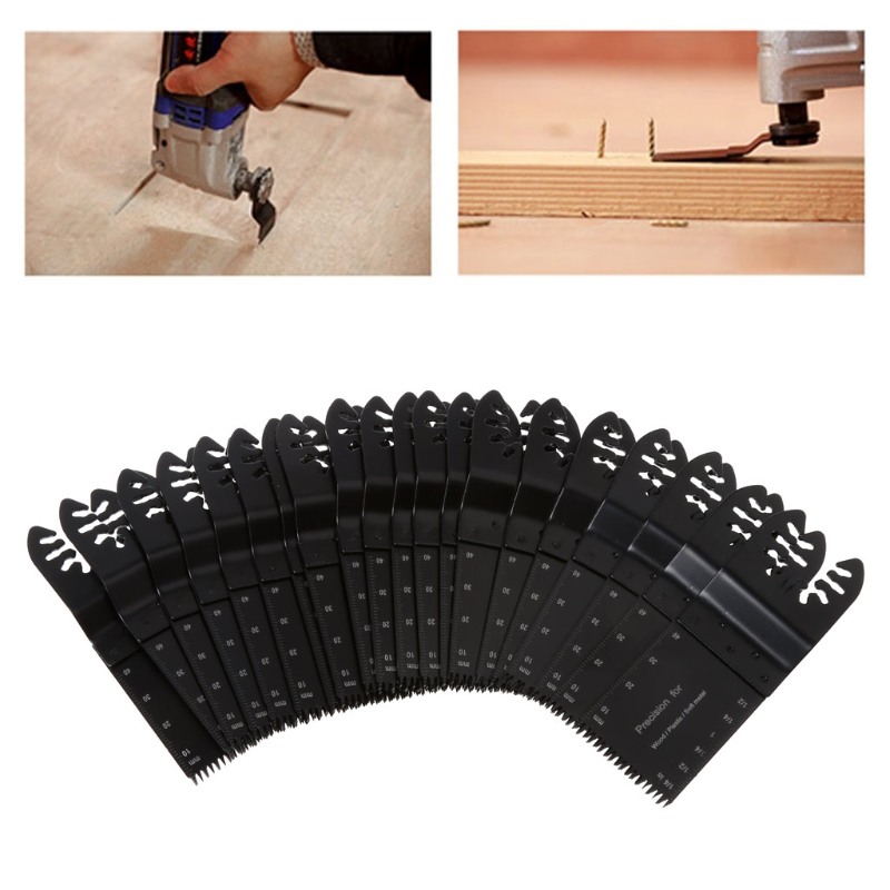 Oscillating Multi Tool Saw Blades For Fein DeWalt Porter DREMEL Bosch 20PCS/SET