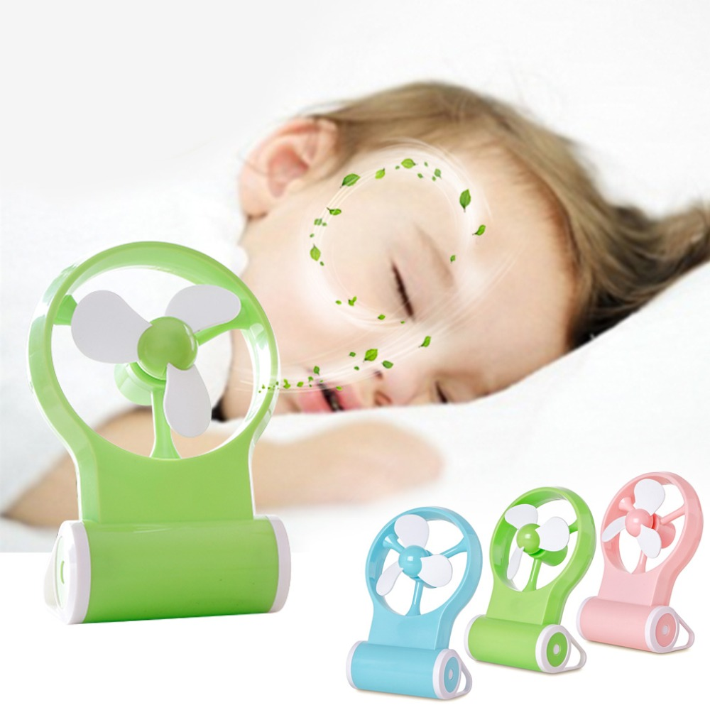 MEXI Mini Air Baby Wind Conditioner Fan Portable USB Cooler Cooling Rechargeable Handheld Micro
