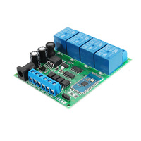 DC 5V 9V 12 24V 4 Channel bluetooth Relay Module Android Mobile Wireless Remote Control Switch